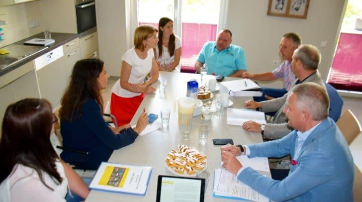 Vernetzungsgespräch Barrierefreiheit und gemeinnütziger Wohnbau. Mit LHStv. Gaby Schaunig