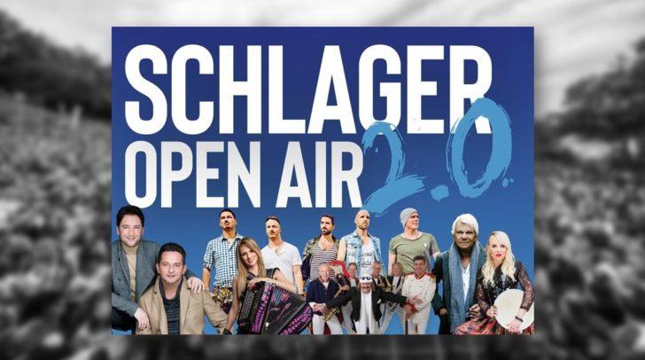 Im August findet das legendäre Schlagerevent auf der Schlosswiese Moosburg statt!