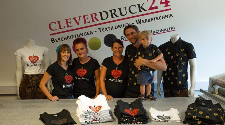 Die Profis von Cleverdruck24 freuen sich schon sehr auf den Villacher Kirchtag.