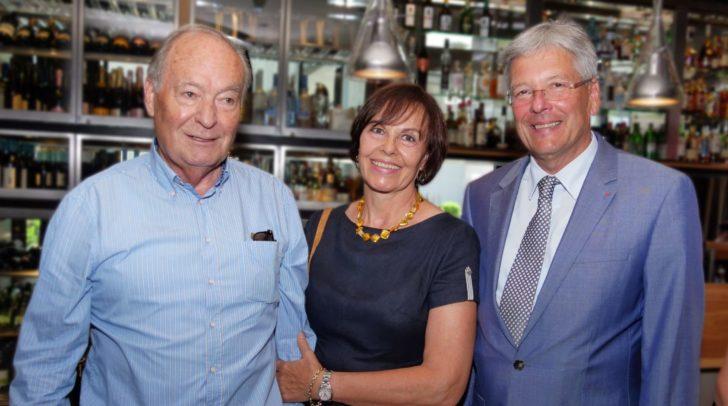 LH Peter Kaiser gratuliert Alt-AK-Präsident Josef Quantschnig zum 80. Geburtstag