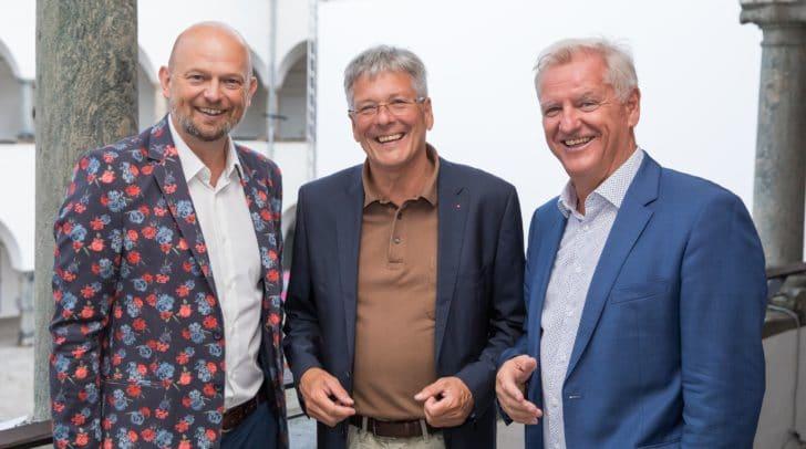 Christian Kresse, LH Peter Kaiser und Kaus Graf