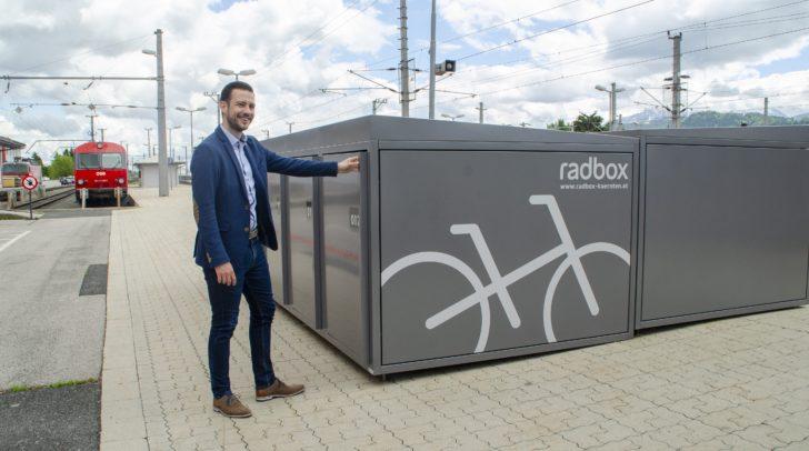 Die Radboxen in Klagenfurt und Villach sind bereits restlos ausgebucht.