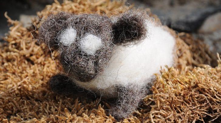 Du möchtest lernen, wie man dieses süße Schaf aus Filz herstellt? Dann melde dich jetzt zum Workshop an!