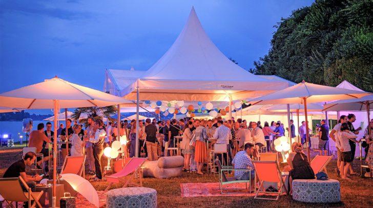 Das Summer-Clubbing fand auf der Festtagswiese in Maria Wörth statt.