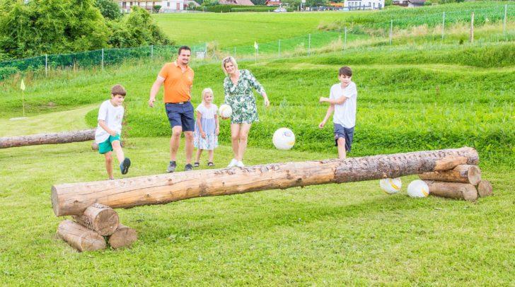 Soocergolf: Der perfekte Freizeitspaß für die ganze Familie.