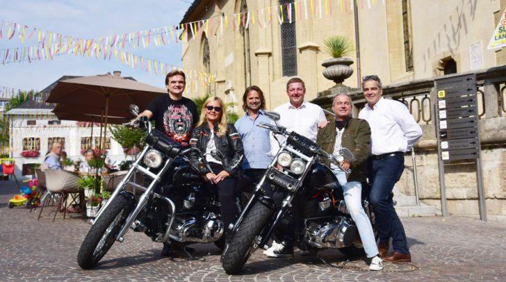 Harald Skrube, Edith Koller, Hubert Marko, Bürgermeister Günther Albel, Wolfgang Koller und Stadtmarketing-Chef Gerhard Angerer.
