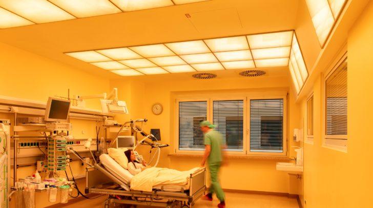 Positive Lichtwirkung auch für Ärzte, Pflegepersonal und Angehörige