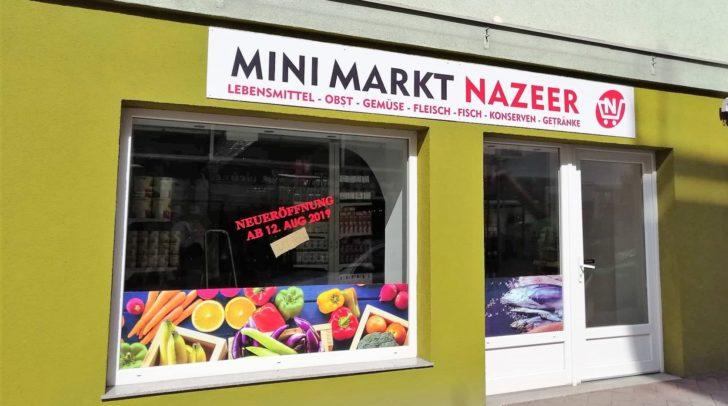 Heute ab 16 Uhr hat der neue Lebensmittelmarkt für euch geöffnet.