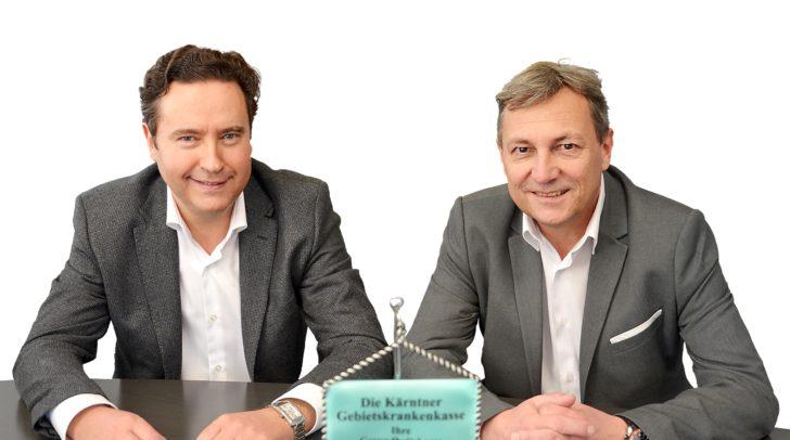 KGKK-Obmann Georg Steiner, MBA und KGKK-Direktor Dr. Johann Lintner.