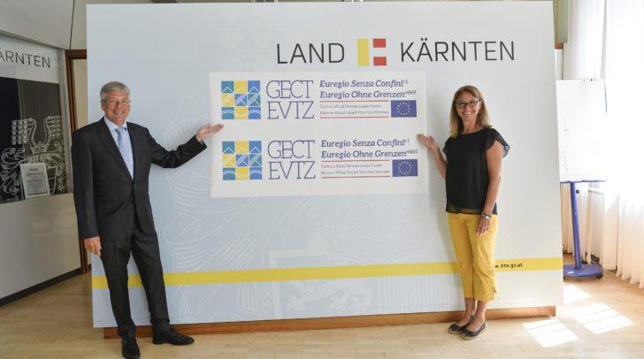 Antrittsbesuch der neuen EVTZ-Direktorin Dott.ssa Sandra Sodini