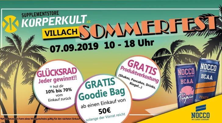 Das beliebte Sommerfest kommt auch nach Villach!