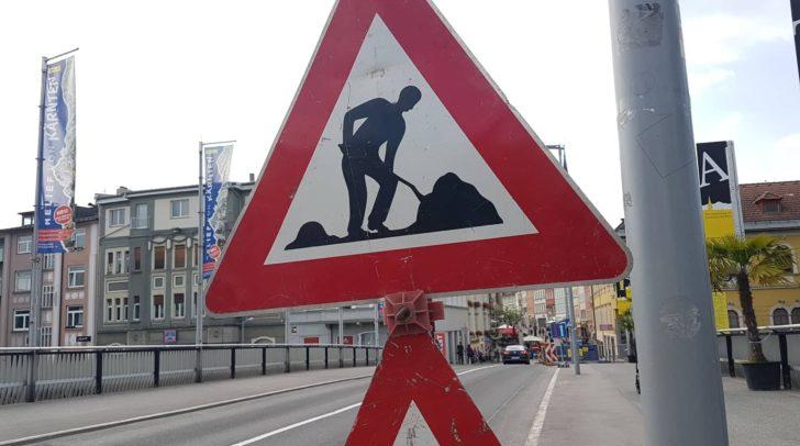 Im Stadtgebiet von Villach kommt es in den nächsten Tagen wieder zu einigen Baustellen und damit verbundenen Verkehrsverzögerungen.