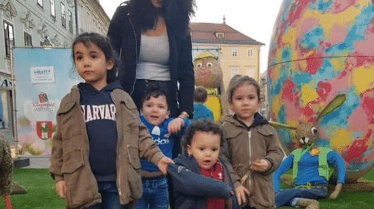 Ihre Kinder sieht Asma derzeit nur im Video-Chat. Die vier Kleinen sind noch immer bei ihrem Vater im Libanon.