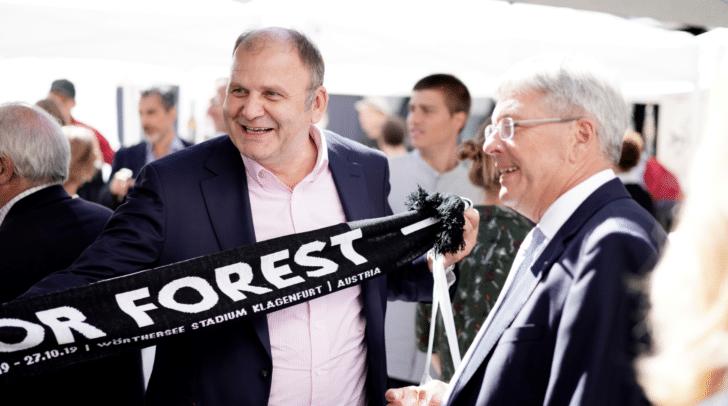 """""""For Forest"""", Kärnten zieht internationale Aufmerksamkeit auf sich."""
