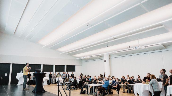 Das ausverkaufte Event stieß auf großes Interesse in der IT-Community.