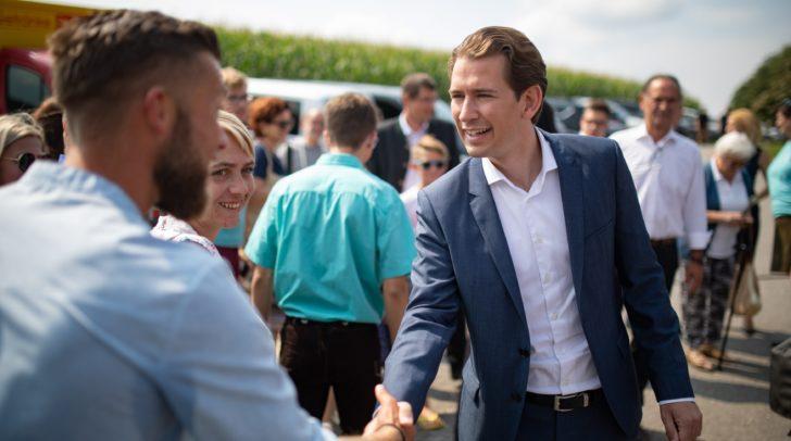 ÖVP-Spitzenkandidat und Parteivorsitzender Sebastian Kurz kommt am Samstag, dem 7. September, ins Congress Center Villach.