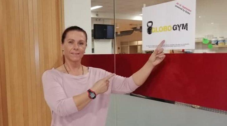 Die neue Studioleiterin des GLOBO Gym Helga Poschinger