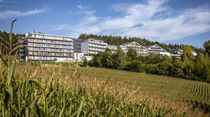 Im Humanomed-Zentrum Althofen wurde der neue Zubau mit 105 Einbettzimmern eröffnet.