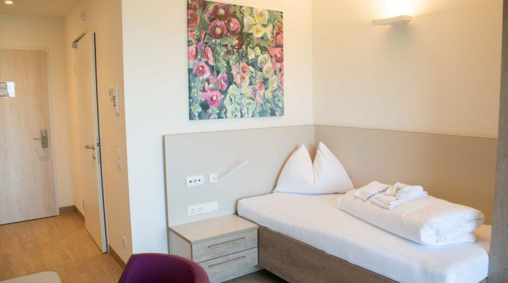 Mit über 105 neuen Einbettzimmern wird den Patienten mehr Raum und Privatsphäre während des Kuraufenthalts in Althofen geboten.