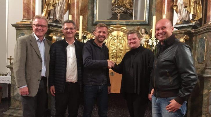 Der Friauler Jugendchor gab vor kurzem ein Konzert in der Pfarrkirche Arnoldstein.