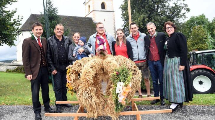 Unter der Leitung von Obmann Marvin Gollner veranstaltete die Landjugend Köstenberg ein Erntedankfest.