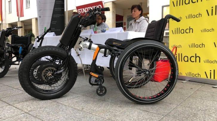 Der Zubau für Rollstühle sorgt für mehr Mobilität.