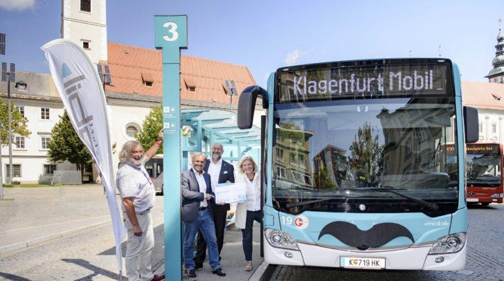 Stadtrat Frank Frey, KMG-Bereichsleiter Gernot Weiss, STW-Vorstand Erwin Smole und Bürgermeisterin Maria-Luise Mathiaschitz.