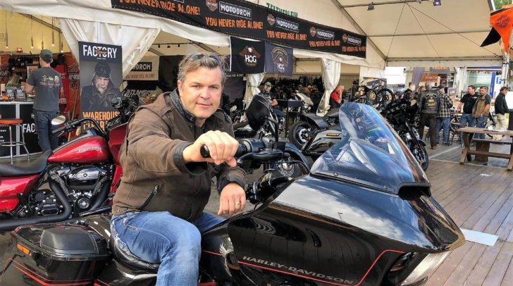 Stefan Masopust-Sintschnig ist der einzige autorisierte Harley Händler in Kärnten und seit 1998 beim Harley-Treffen dabei.