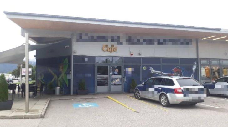 Der derzeit noch unbekannte Täter bedrohte eine Angestellte eines Klagenfurter Wettlokales.