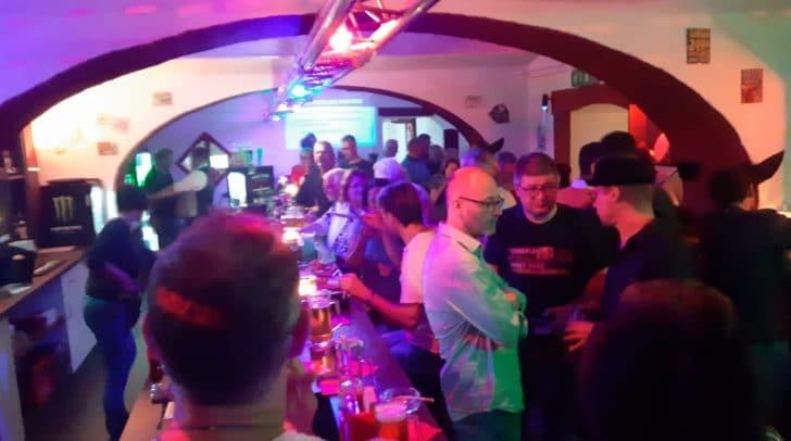Über 300 Gäste feierten gemeinsam mit dem Verein am Eröffnungswochenende.