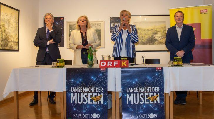 """Das Programm der """"Langen Nacht der Museen"""" wurde am Donnerstag von ORF Landesdirektorin Karin Bernhard vorgestellt."""
