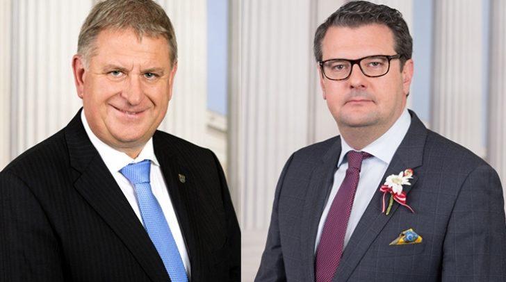 Die beiden Mandate im Nationalrat für Maximilian Linder (links) und Wendelin Mölzer scheinen nach den aktuell vorliegenden Ergebnissen nicht mehr möglich zu sein.