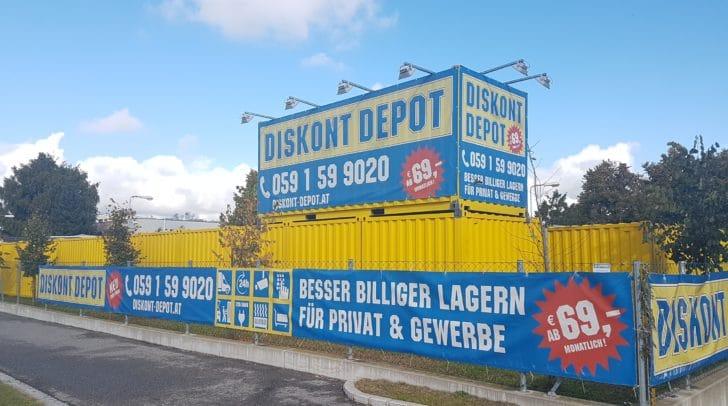 Bei Diskont Depot in Klagenfurt lagerst du deine Güter zu günstigen Preisen!