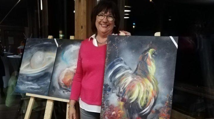 Noch bis Anfang November kann man die Ausstellung der Künstlerin bewundern.