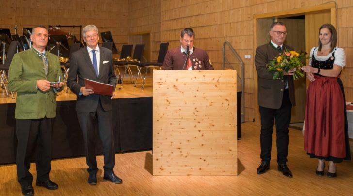 Erich Riegler, LH Peter Kaiser, Reinhard Schneeberger, Horst Baumgartner