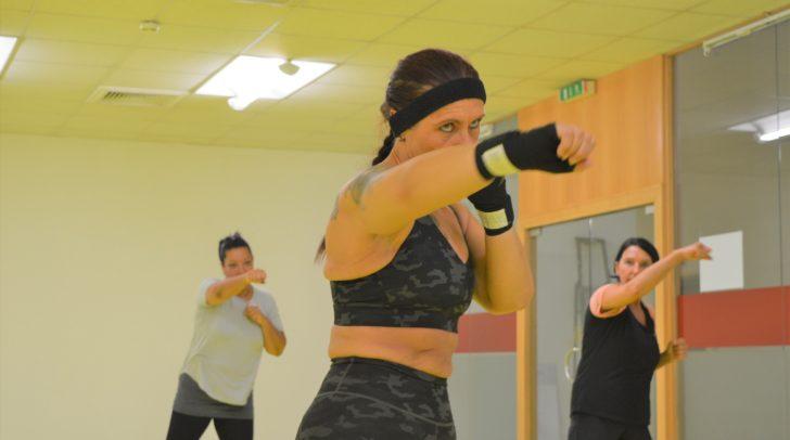 Auf sie kannst du zählen: Fitnesstrainerin Helga Poschinger ist deine kompetente Ansprechpartnerin bei Fitnessfragen.