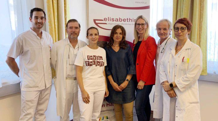 Auf dem Weg zum demenzfreundlichen Krankenhaus. Die Demenzgruppe im Elisabethinen-Krankenhaus Klagenfurt.