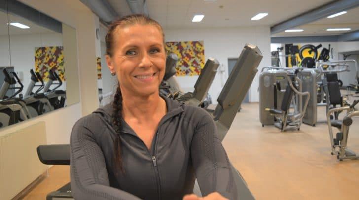 Auf sie kannst du zählen: Trainerin Helga Poschinger ist deine kompetente Ansprechpartnerin bei Fitnessfragen.