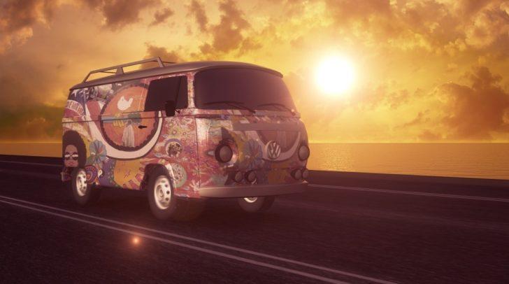 Ab in euren VW-Bus und zurück in die 70er.