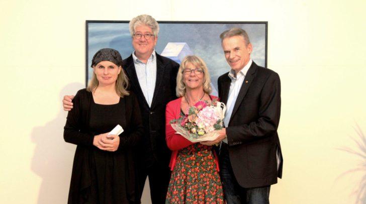 Malerei und selbst gebrautes Bier wurden am vergangenen Freitag im Kunstbahnhof Wörthersee präsentiert.