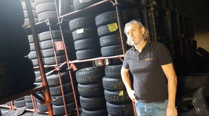 Betreiber Michael Lamprecht und sein Team sind seit dem Brand unermüdlich im Einsatz für ihre Kunden.