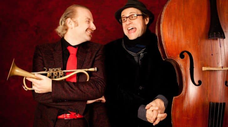 Trompete und Kontrabass im Duo – Breinschmid+Gansch