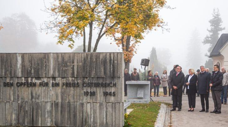 Traditionelle Gedenkfeier von Memorial Kärnten-Koroška (MKK).