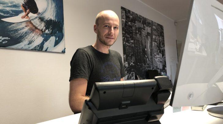 Hubert Plamenig von der ELBE GmbH ist ein Profi auf dem Gebiet der Netzwerksicherheit.