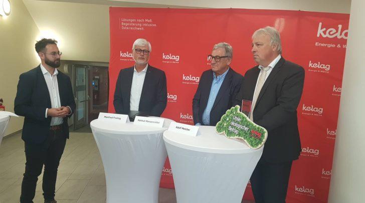 Manfred Freitag (Vorstand der Kelag), Helmut Manzenreiter (Vorstandssitzender