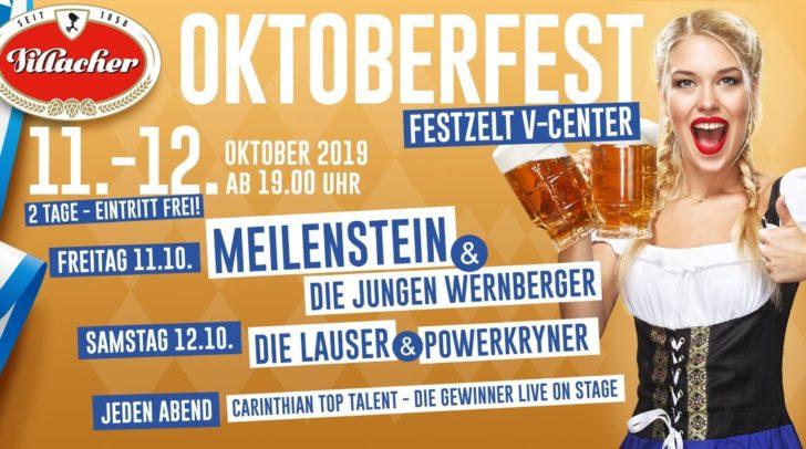 Auf zum Villacher Oktoberfest am 11. und 12. Oktober!