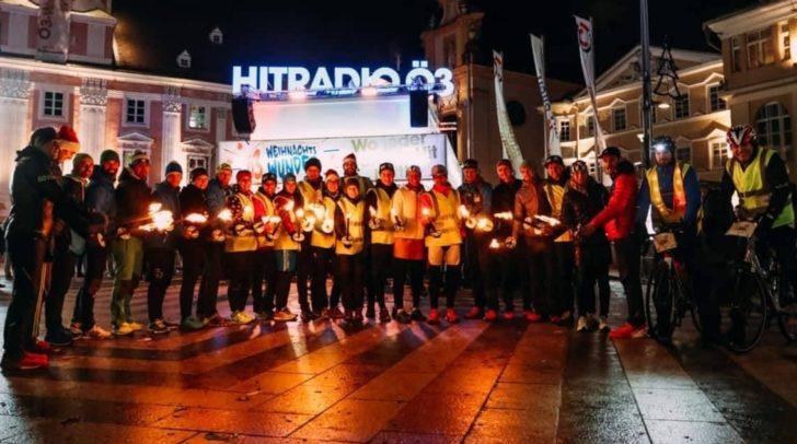 Auch heuer wollen die Läufer wieder für das ö3 Weihnachtswunder Spenden sammeln.