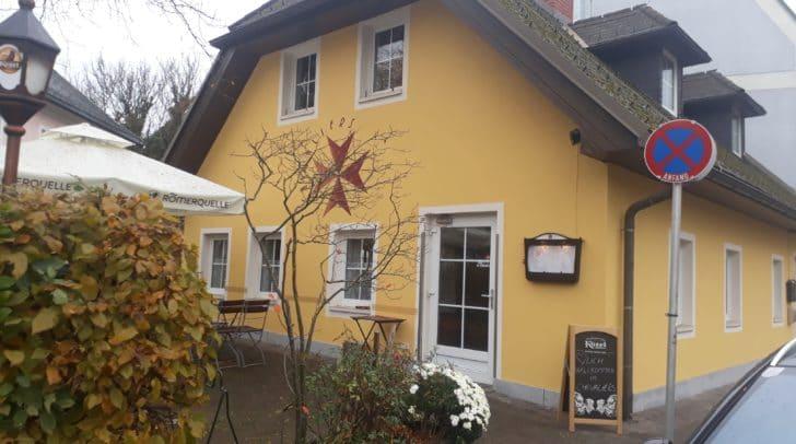 """Im ehemaligen """"Hamatle"""" hat das Restaurant """"Chevaliers"""" seine Pforten eröffnet."""