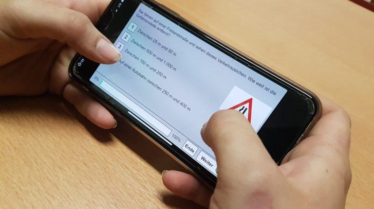 Modern und innovativ: Gelernt wird via App.