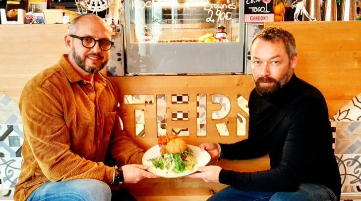 Martin Pohl und Andreas Mörtl präsentieren den neuen Beyond Burger®